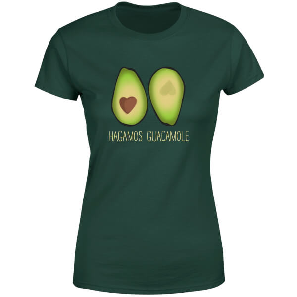 Hagamos Guacamole Women's T-Shirt - Forest Green
