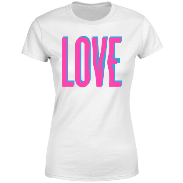 Love Glitch Women's T-Shirt - White