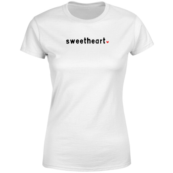 Sweetheart Women's T-Shirt - White