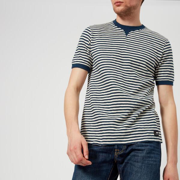 Edwin Men's International T-Shirt - Natural/Navy