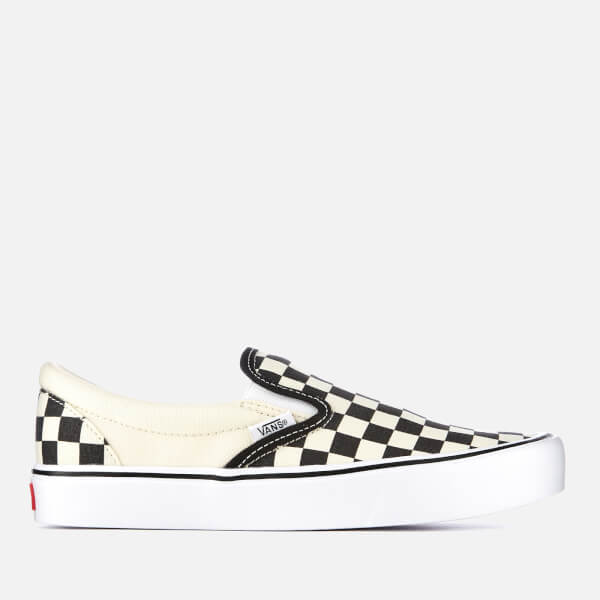 vans checkerboard slip on lite