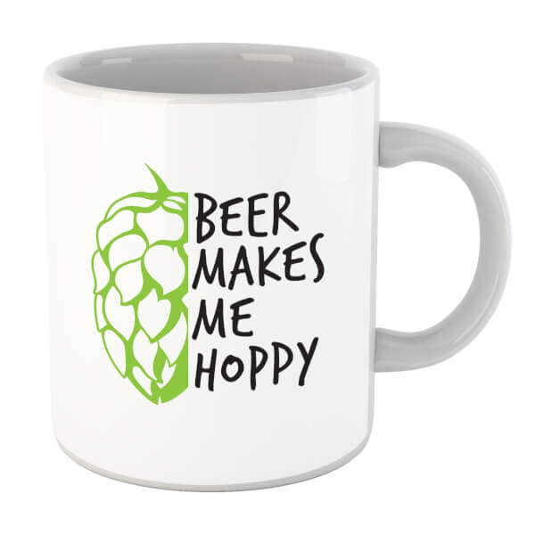 Beershield Beer Makes Me Hoppy Mug