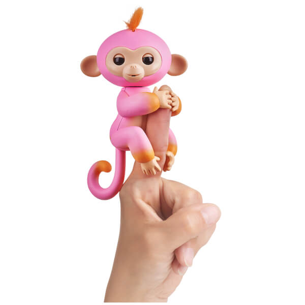 Fingerlings Baby Monkey - Two Tone - Summer (Pink and Orange)