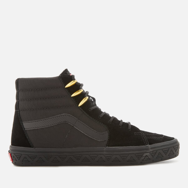 Vans Marvel Sk8 Hi-Top Trainers - Black Panther/Black