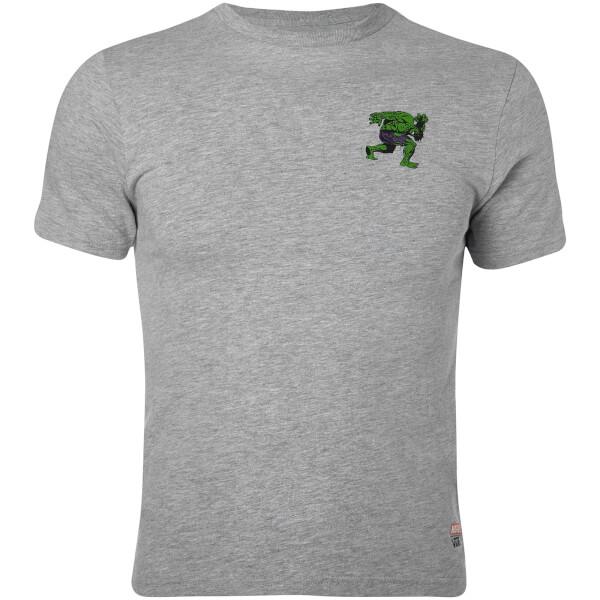 Vans Boys Marvel Hulk T-Shirt - Athletic Heather