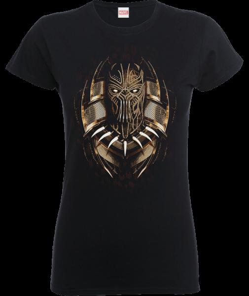 Black Panther Gold Erik Women's T-Shirt - Black