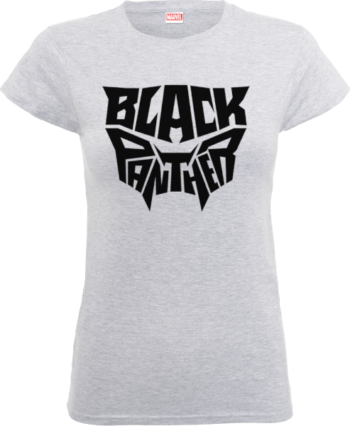 Black Panther Emblem Women's T-Shirt - Grey