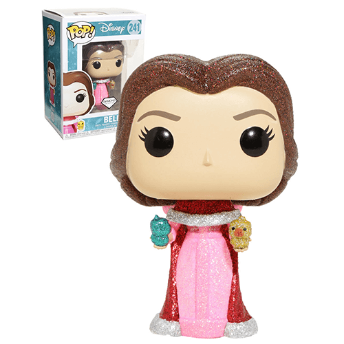 Beauty and the Beast Glitter Belle with Birds EXC Pop! Vinyl Figure
