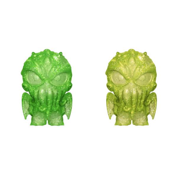 H.P Lovecraft Cthulhu Green and Yellow Hikari XS Vinyl Figure 2 Pack