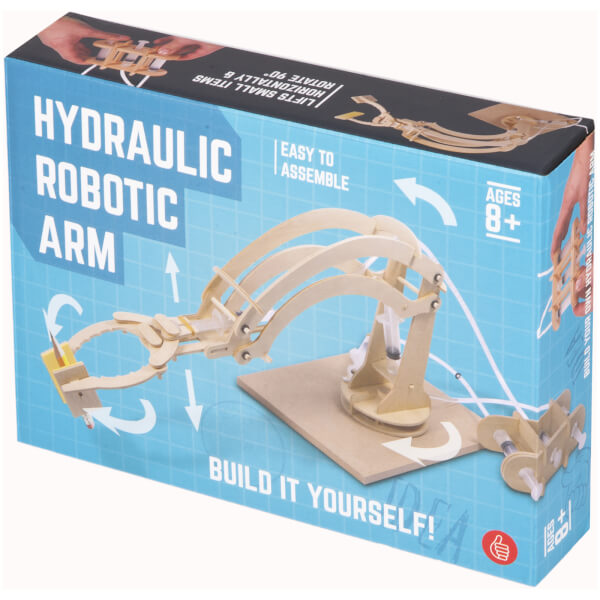 Build Your Own Hydraulic Robot Arm