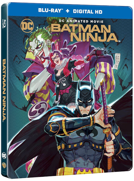 Batman Ninja Steelbook Blu-ray