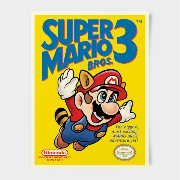 Nintendo Super Famicom Super Mario Bros 3 Print