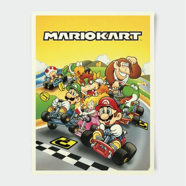 Nintendo Maro Kart Print