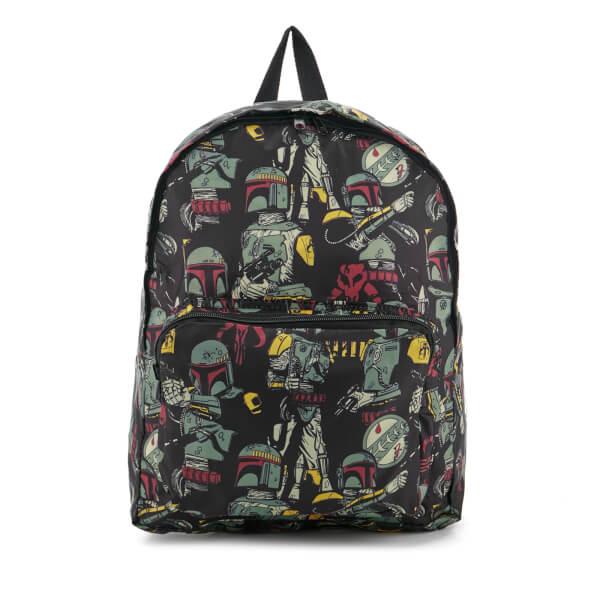 Star Wars Bobo Fett AO Print Backpack - Black