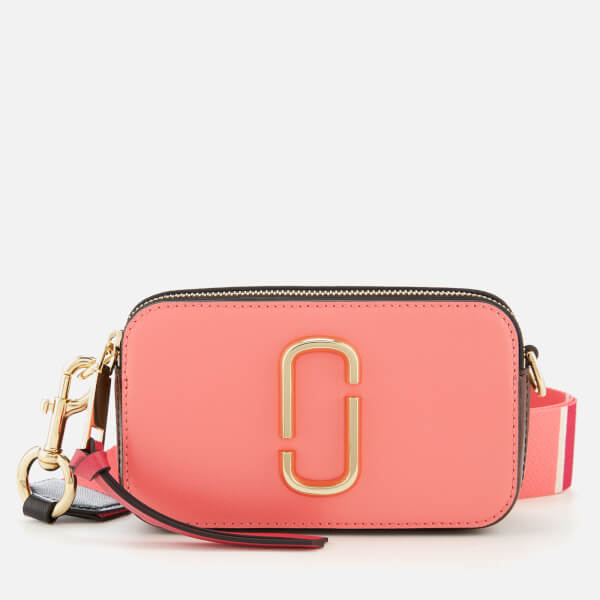 Marc Jacobs Women's Snapshot Cross Body Bag - Coral Multi