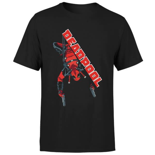 Marvel Deadpool Hang Split T-Shirt - Black
