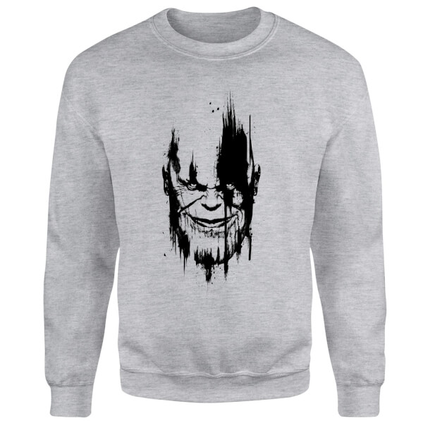 Sweat Homme Avengers Infinity War Marvel Visage Thanos