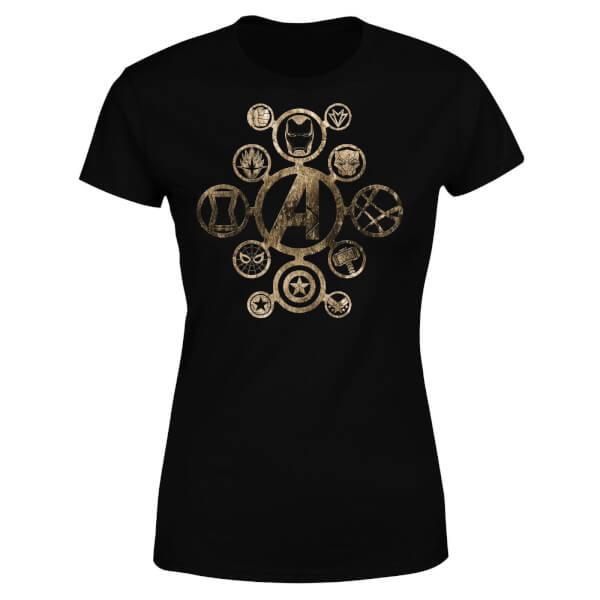Marvel Avengers Infinity War Icon Women's T-Shirt - Black