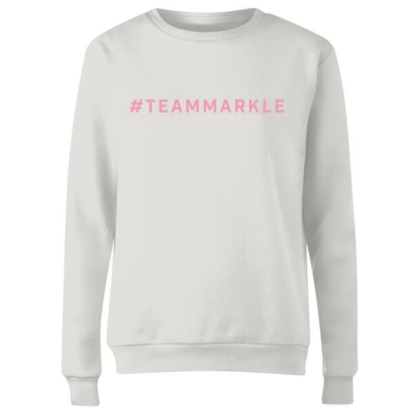 #TeamMarkle Women's Sweatshirt - White