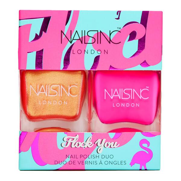 nails inc. Trend Duo Flock You Nail Polish Duo 2 x 14ml