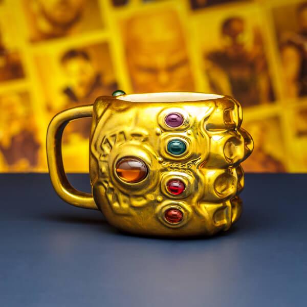 Marvel Avengers Infinity War Gauntlet Shaped Mug