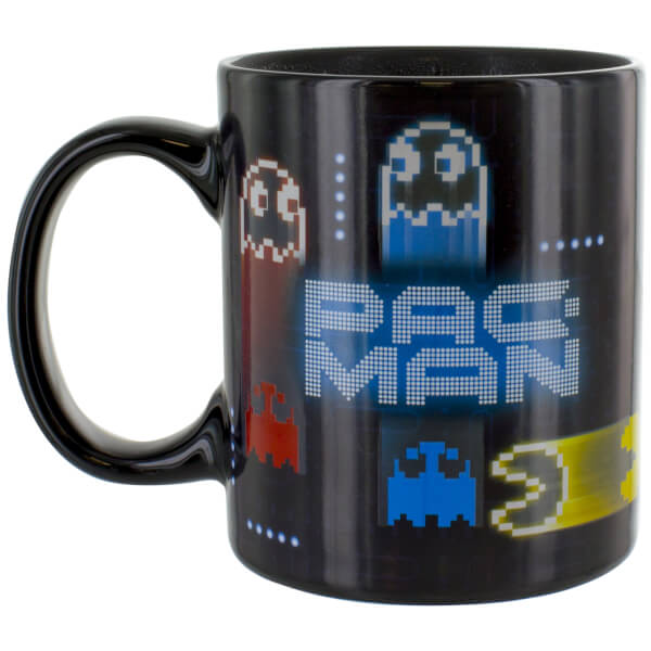 Pac Man Neon Heat Change Mug