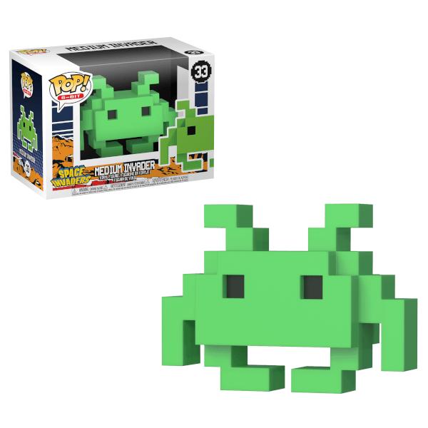 8 Bit Space Invaders Medium Invader Pop! Vinyl Figure