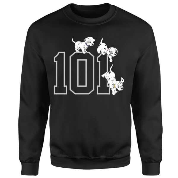 Disney 101 Dalmatians 101 Doggies Sweatshirt - Black