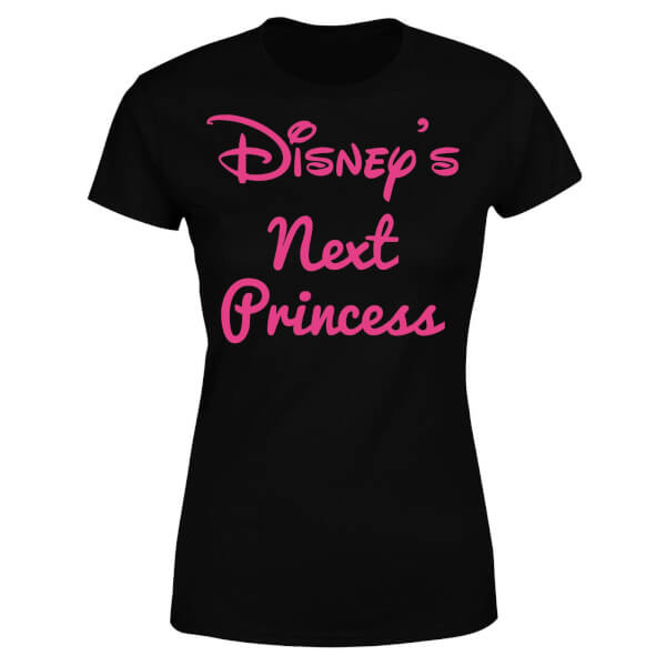 Disney Princess Next Women's T-Shirt - Black