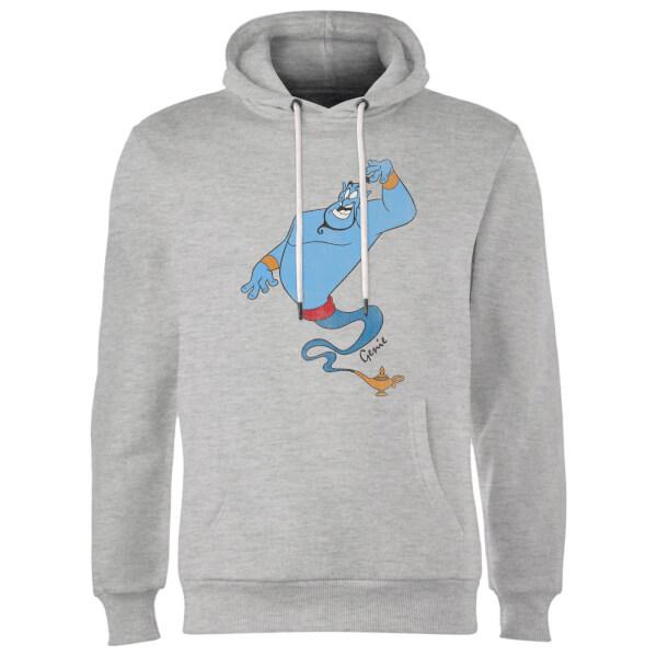 Disney Aladdin Genie Classic Hoodie - Grey