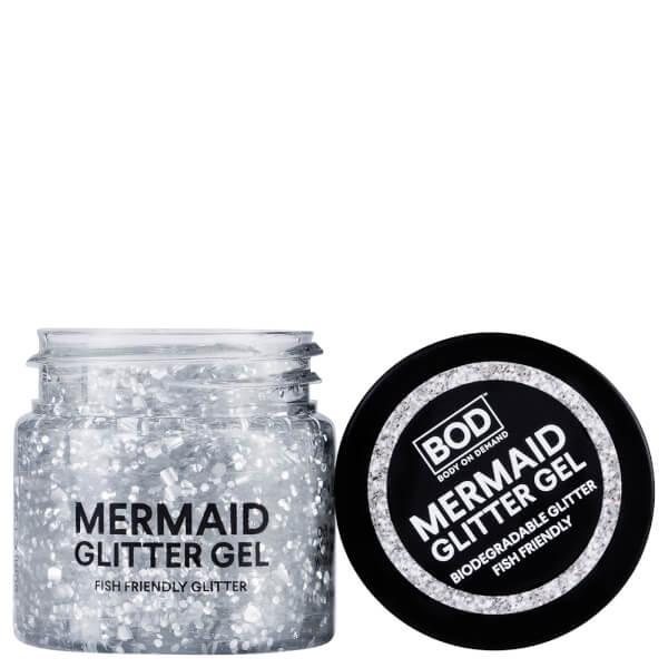 Bod Mermaid Body Glitter Gel   Silver by Bod