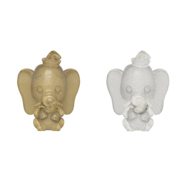 Disney Dumbo Gold and Silver Hikari XS Vinyl Figure 2 Pack