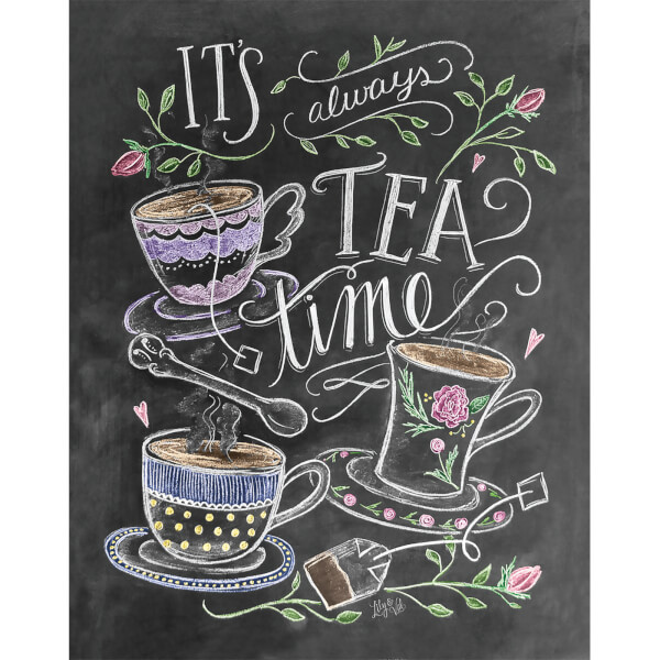 Lily & Val It's Always Tea Time Print