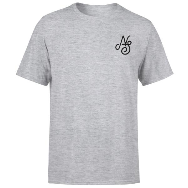 Native Shore Men's Essential Script T-Shirt - Grey
