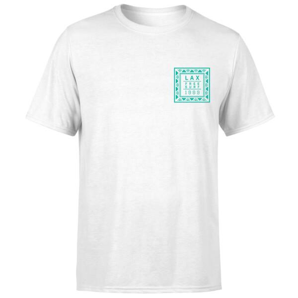 Native Shore Men's LAX Free Surf T-Shirt - White