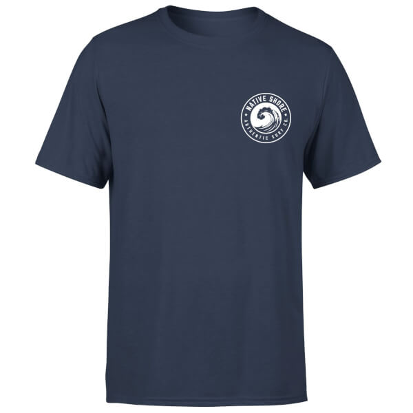 Native Shore Men's Wave T-Shirt - Navy
