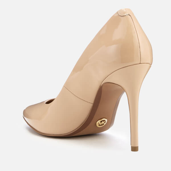 a084de95e67e MICHAEL MICHAEL KORS Women s Claire Patent Court Shoes - Light Blush  Image  3