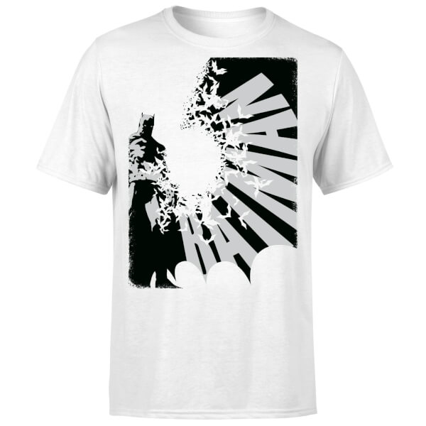 DC Comics Batman Bat Spread T-Shirt - White