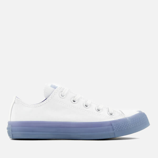 9683f0b2ba11 Converse Women s Chuck Taylor All Star Ox Trainers - White Twilight Pulse   Image 1