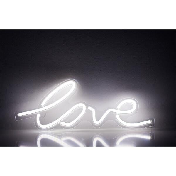 Love LED Neon Wall Light