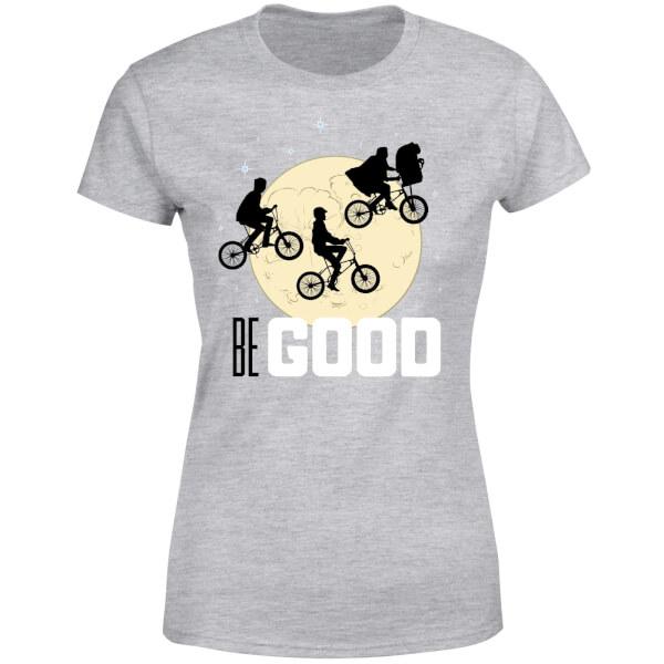 ET Be Good Moon Women's T-Shirt - Grey