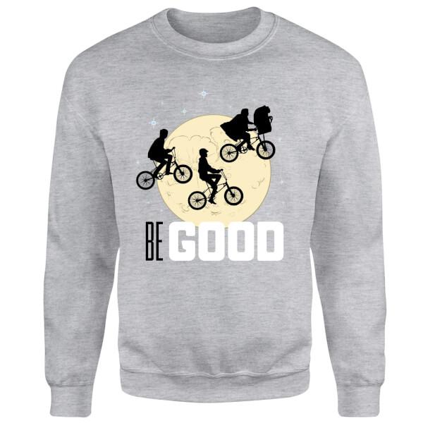 ET Be Good Moon Sweatshirt - Grey