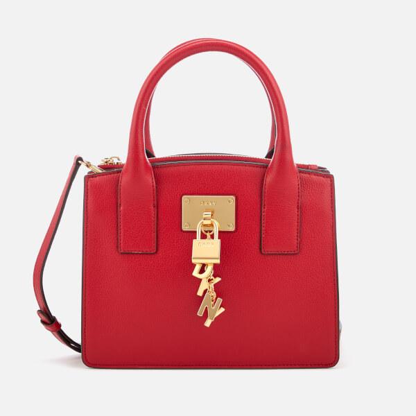DKNY Women's Elissa Small Tote Bag - Safari Red