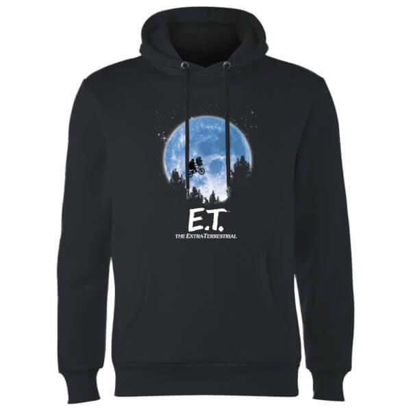 ET Moon Silhouette Hoodie - Black