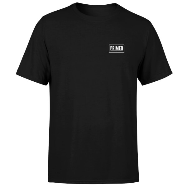 Primed Chest Logo T-Shirt - Black