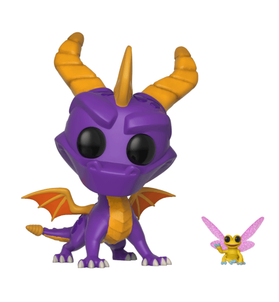 Spyro the Dragon with Sparx Pop! Vinyl Figure