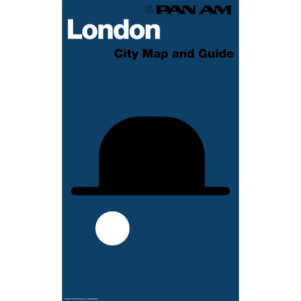 PAN AM London Print
