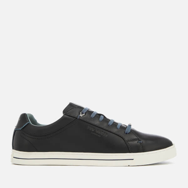 Ted Baker Men's Thawne Leather Cupsole Trainers - Black