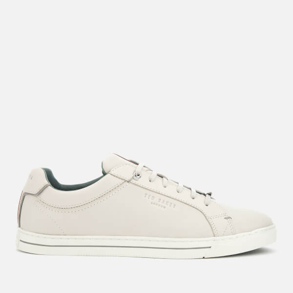 Ted Baker Men's Thawne Leather Cupsole Trainers - White