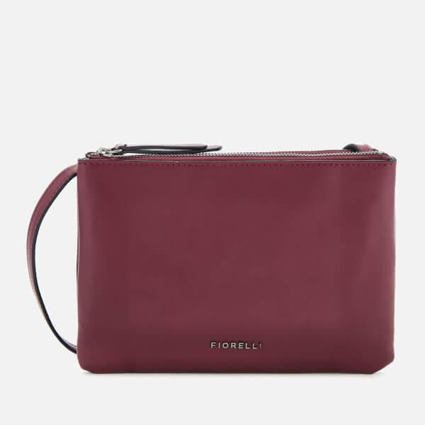 Fiorelli Women's Bunton Cross Body Bag - Berry